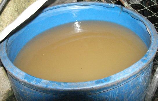 Agua sucia en Cienfuegos