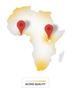 Un mapa que muestra la ubicación de la ciudad de Kampala, Uganda. Imagen tomada del sitio oficial de Project Link